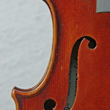 Jay Haide violin Balestrieri-modell