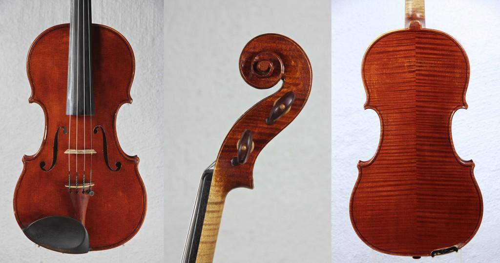 Violin byggd 2010